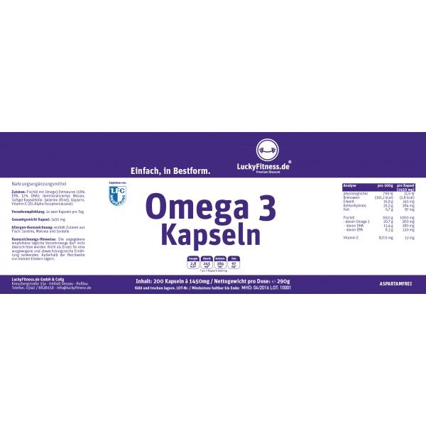 Omega 3 Kapseln 1000mg