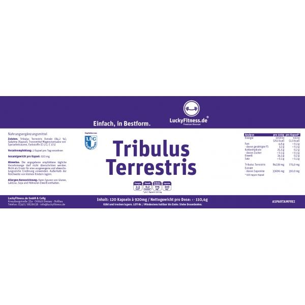 Tribulus Kapseln (775mg)
