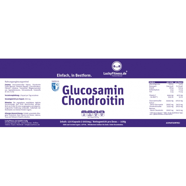 Gluccosamin /Chondroitin (700mg)