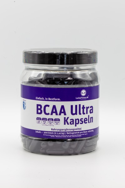 BCAA Ultra (1250mg, 300 Kapseln)