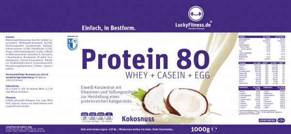Muscle Protein (1000g Eimer)