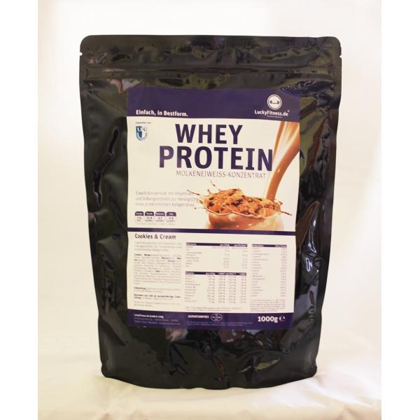 Whey Protein (1000g Beutel)