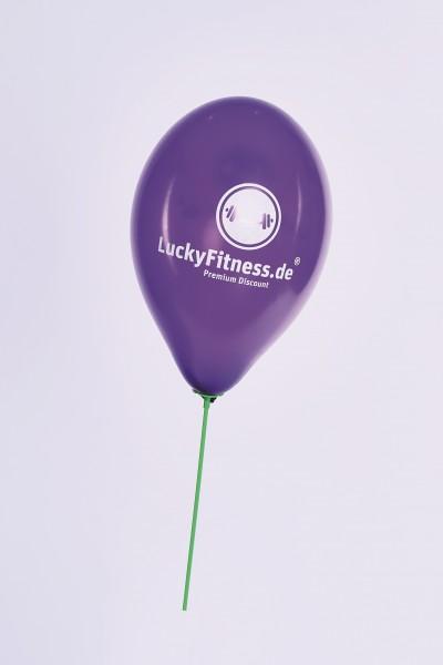 Lucky Luftballon lila (inkl. Stab möglich)