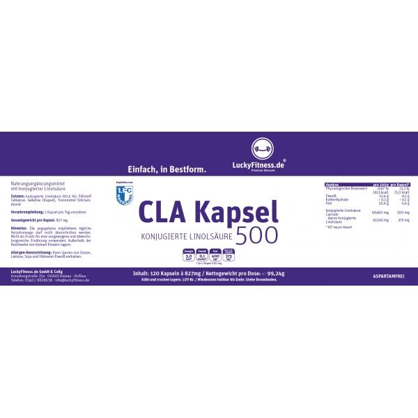 CLA Kapsel (500 mg)