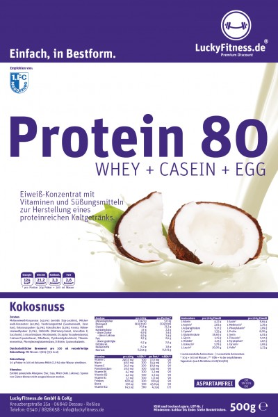Muscle Protein (500g Beutel)